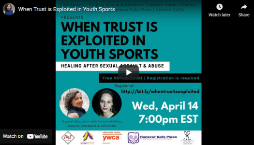 Moderated by CASA: When Trust is Exploited in Youth Sports
