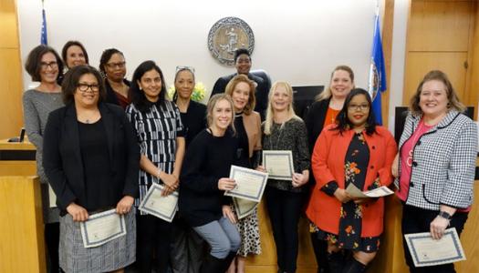 Henrico Citizen: 13 new CASA volunteers sworn in